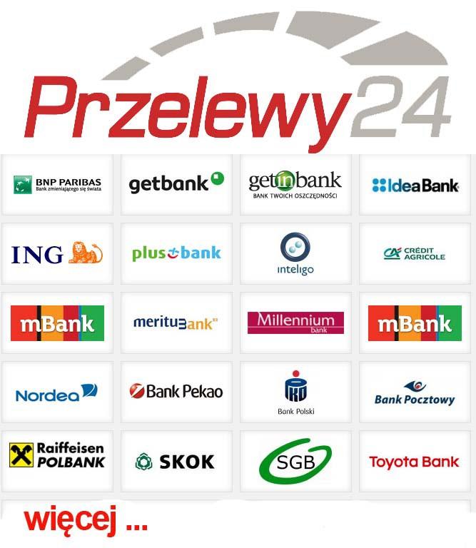 Znalezione obrazy dla zapytania sposoby płatności przelewy 24