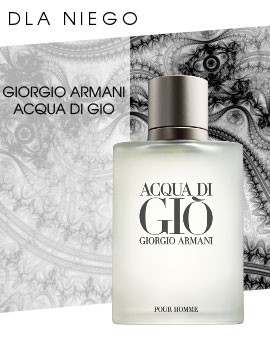 Taniej dla Niego! Giorgio Armani Acqua Di Gio Pour Homme woda toaletowa 10ml za 25zł