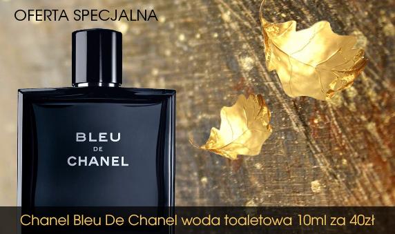 Oferta Specjalna! Nie przegap! Chanel Bleu De Chanel woda toaletowa 10ml za 40zł!