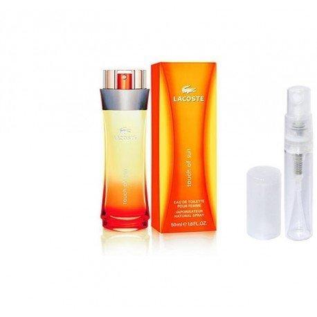 najlepsza cena wylot online 50% ceny Lacoste Touch Of Sun, Tanie Perfumy, Próbki Perfum | OdlewkiPerfum.pl