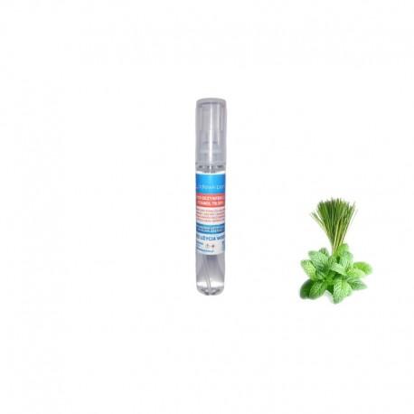 Płyn do dezynfekcji rąk Mięta i Zielona Herbata, Lemongrass, Etanol 79,99%, bez użycia wody