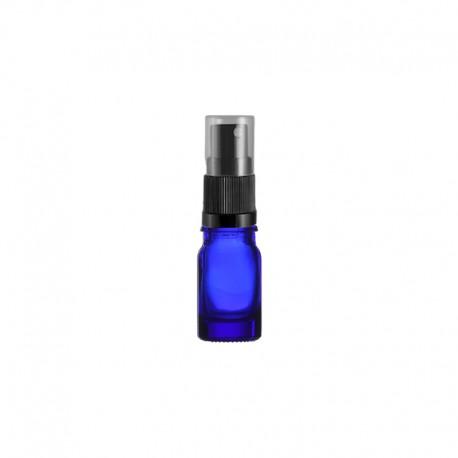 Szklana niebieska butelka z atomizerem 5ml