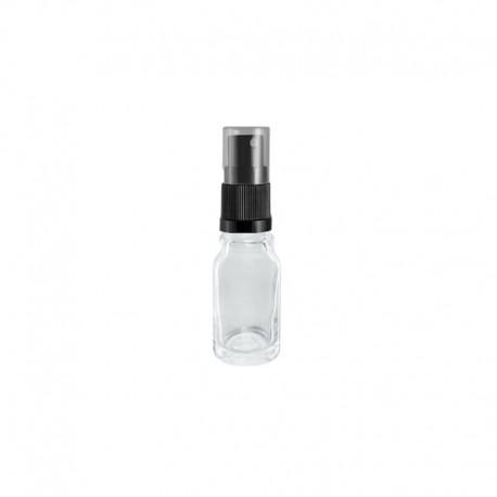 Szklana bezbarwna butelka z atomizerem 5ml