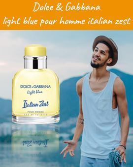 Dolce & Gabbana Light Blue Pour Homme Italian Zest woda toaletowa 10ml za 50zł
